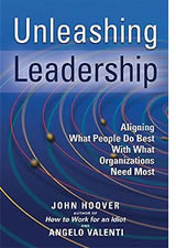 Book cover for Unleashing Leadership